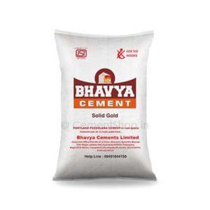 bhavya cement rate